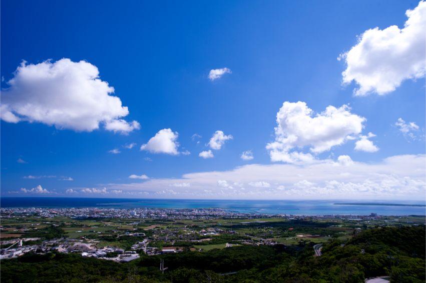 石垣島の市街地