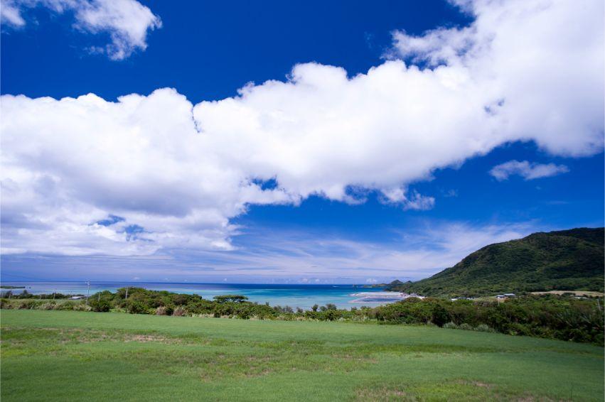 石垣島の夏の風景