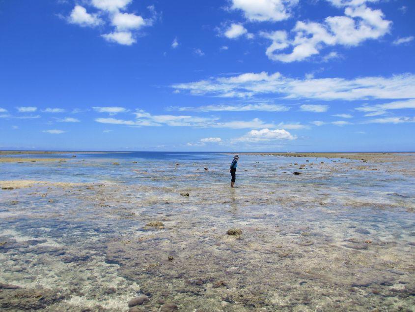 干潮時のピゲカゲ浜